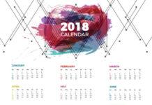 calendario 2018 para imprimir