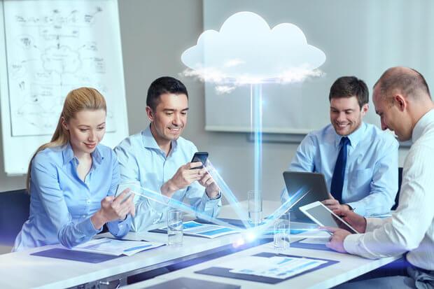 Colaboracion de trabajo en la nube