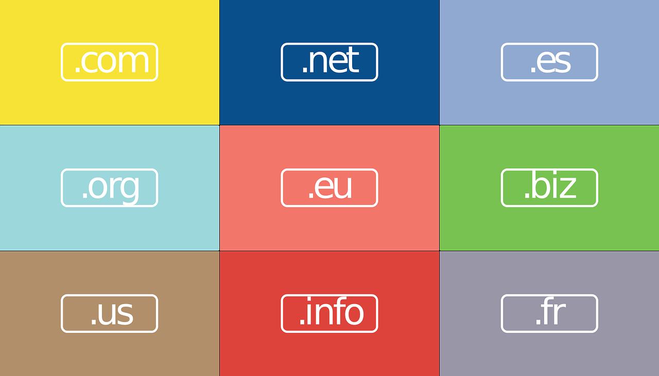 extensiones de dominio