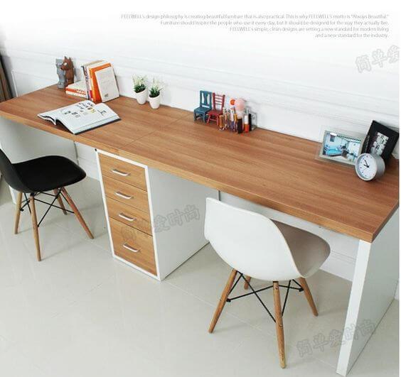 escritorio doble