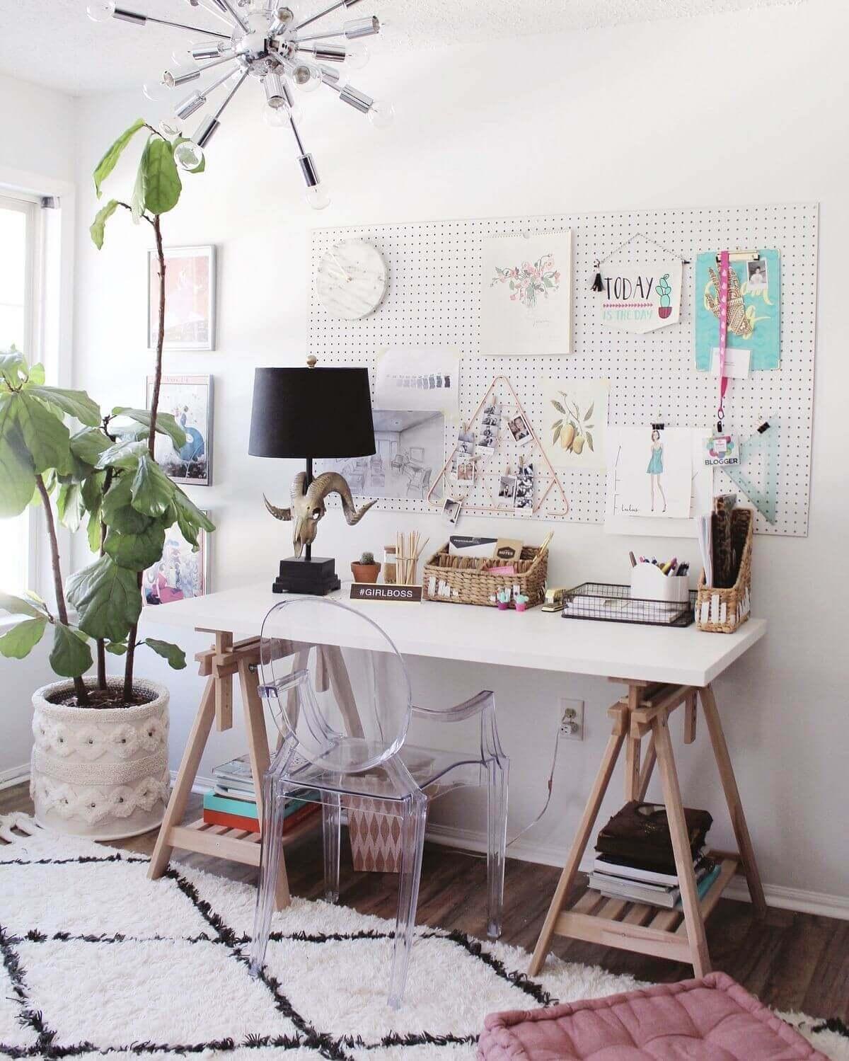 escritorio mesa caballete