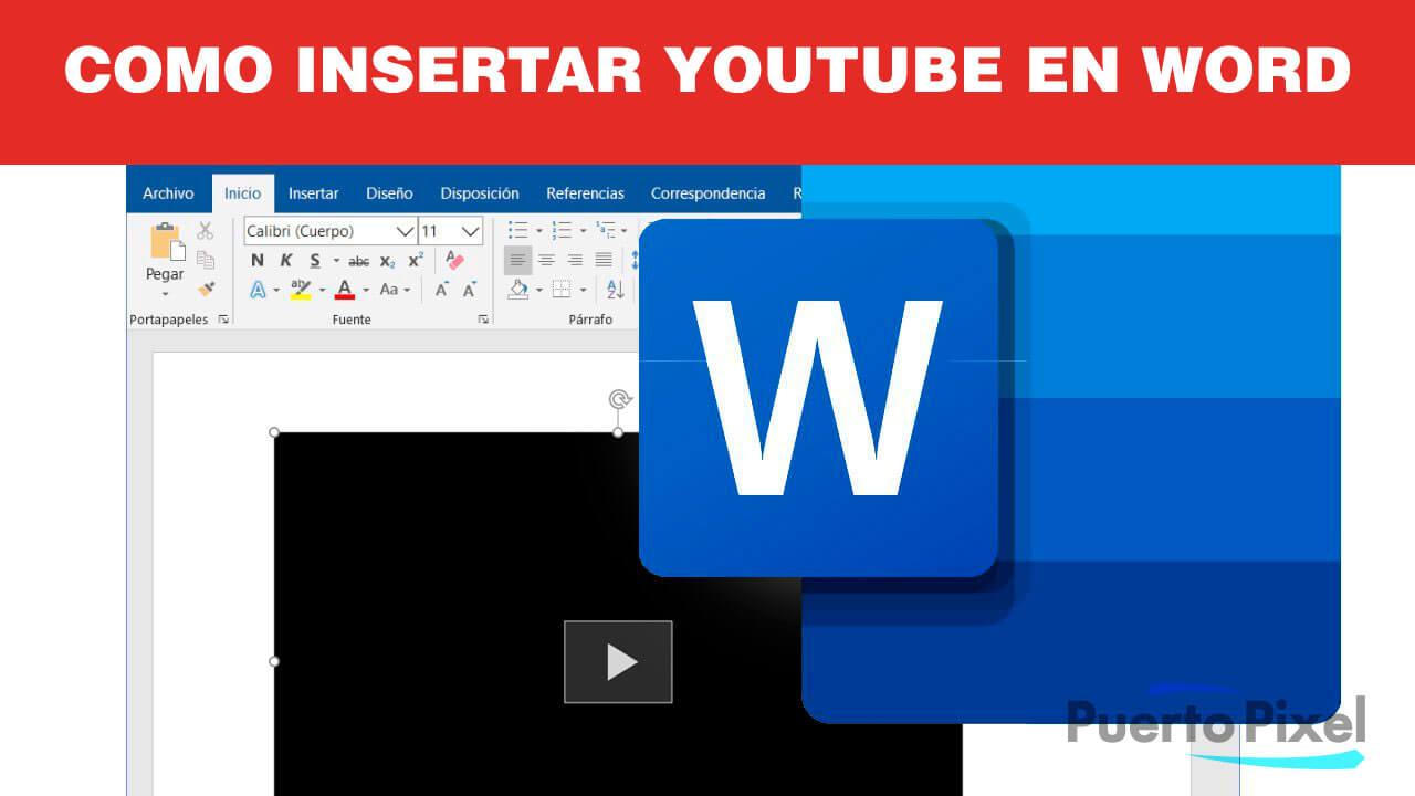 Como insertar youtube en Word