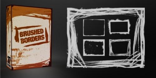 Bordes o marcos en pinceles y texturas para Photoshop – Puerto ...