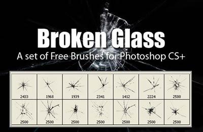 brushes-vidrio-roto